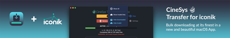 CineSys Transfer